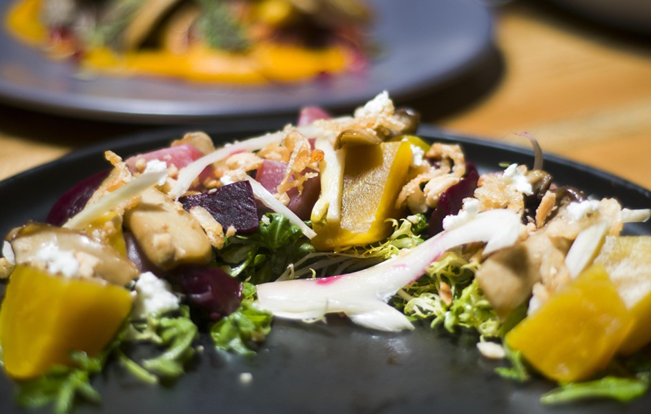 Beet salad. - TOM PERKINS