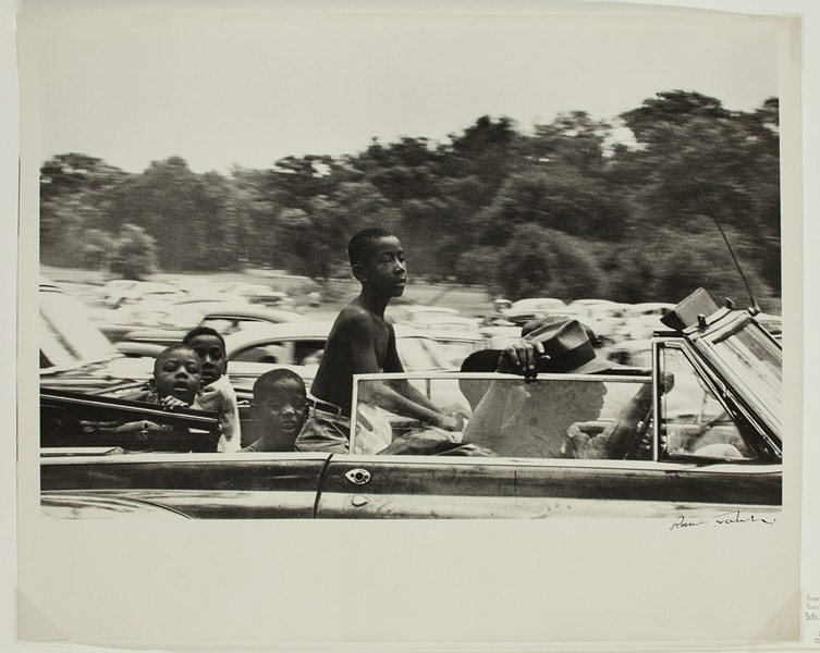 """Belle Isle–Detroit,"" Robert Frank, 1955 (printed about 1966–68), gelatin silver print. - DETROIT INSTITUTE OF ARTS"