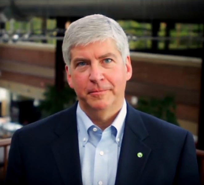 Rick Snyder - PHOTO VIA WIKIMEDIA COMMONS