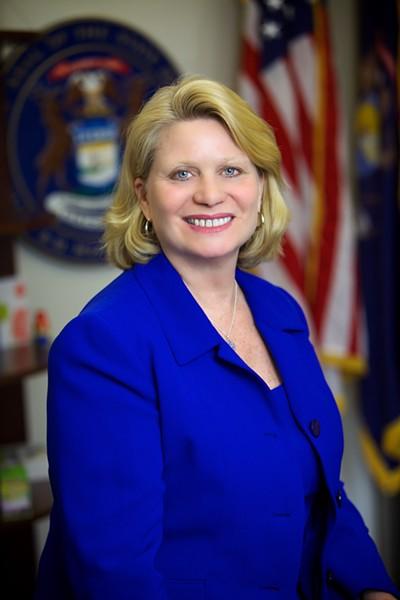 Michigan Secretary of State Ruth Johnson. - PHOTO COURTESY STATE OF MICHIGAN