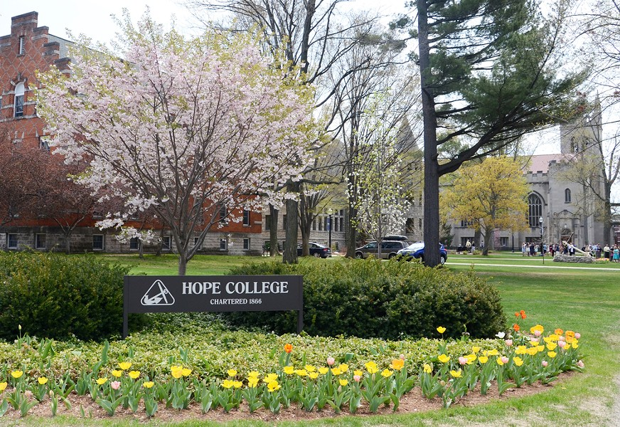 Hope College in Holland. - SHUTTERSTOCK