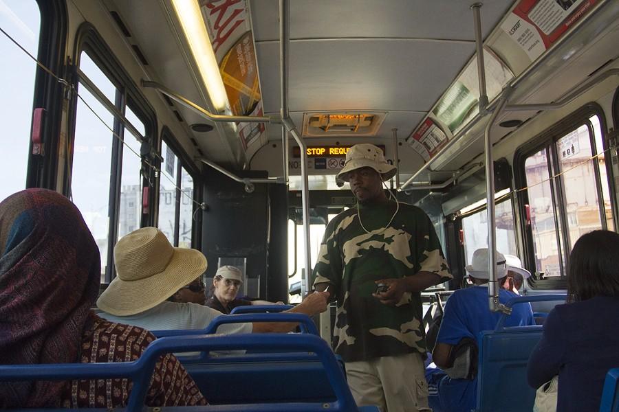 DDOT bus. - STEVE NEAVLING
