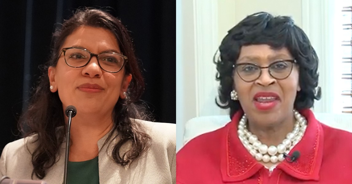 U.S. Rep. Rashida Tlaib and Detroit City Council President Brenda Jones. - PHIL PASQUINI, SHUTTERSTOCK / BRENDA JONES