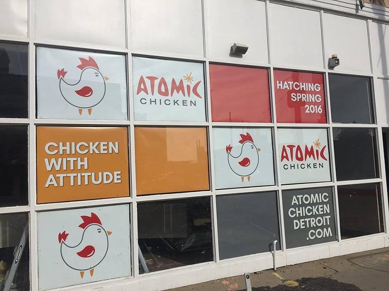 ATOMIC CHICKEN/FACEBOOK