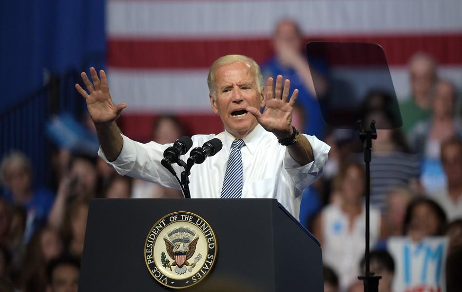 Former Vice President Joe Biden in 2016. - MATT SMITH PHOTOGRAPHER