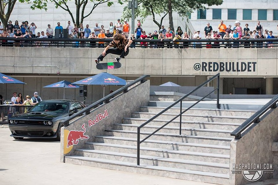 Evan Smith doing a kickflip at last years Hart Lines - PHOTO: MORGAN SOMERS