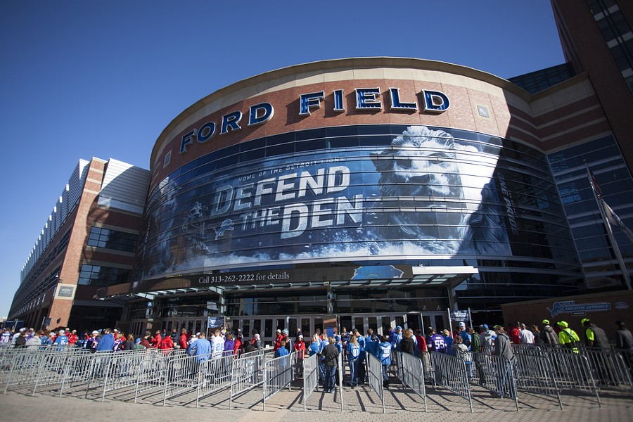 Management has a lot of work to do, but at least they know people will come to Lions games even if they go 0-16. - JULI HANSEN / SHUTTERSTOCK.COM