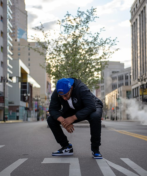 """""""I'm trying to utilize my platform to be a bigger voice for my city,"""" Cash says. - AUSTIN EVANS EIGHMEY"""