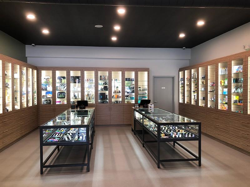 Wares for sale at Ferndale's new LIV provisioning center. - JACK ROSKOPP