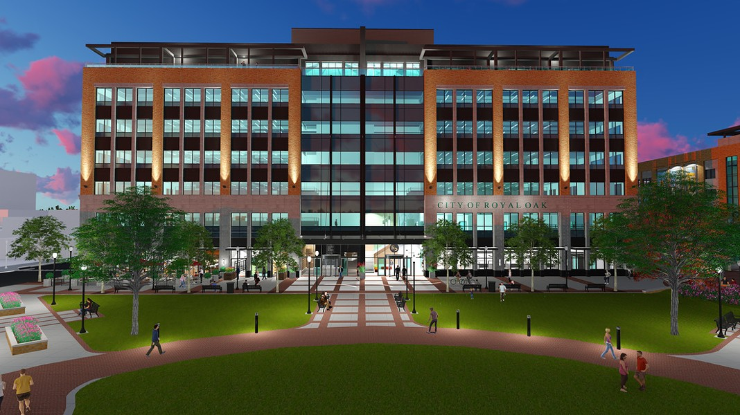 A rendering of the proposed Royal Oak City Center development. - COURTESY PHOTO