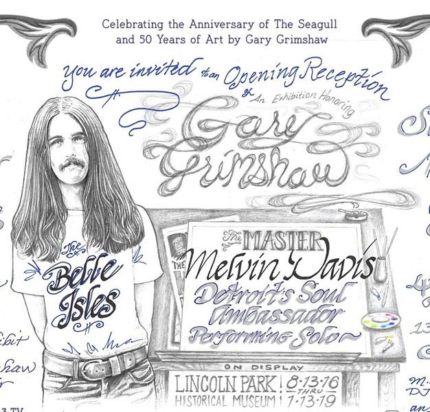 PHOTO VIA GARY GRIMSHAW: THE MASTER ARTIST'S STUDIO EVENT, FACEBOOK
