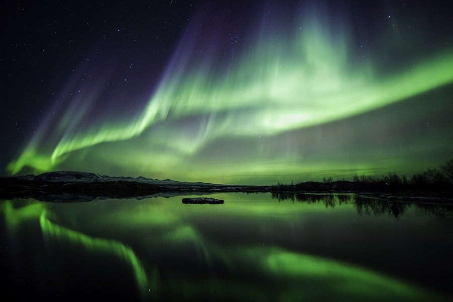 The Northern lights. Clearly not Michigan, but gorgeous nonetheless. - JOHANN HELGASON // SHUTTERSTOCK