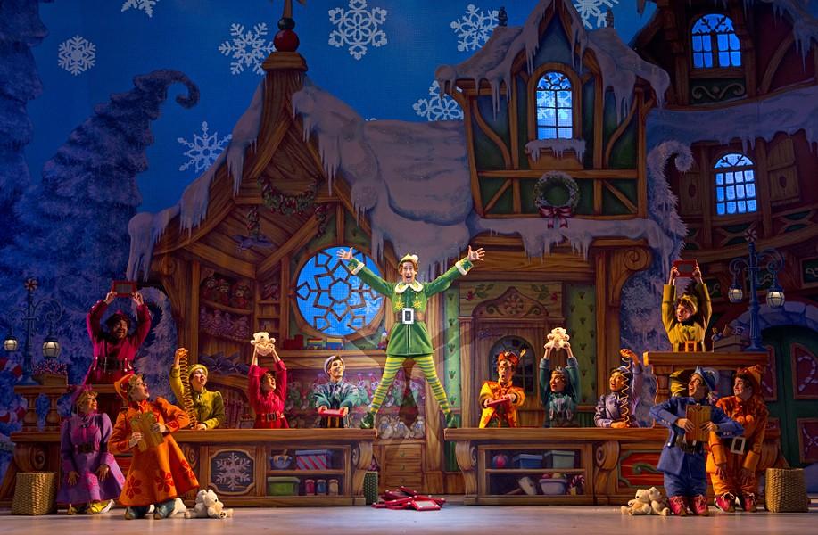 Elf the Musical @ Fox Theatre. Courtesy photo.