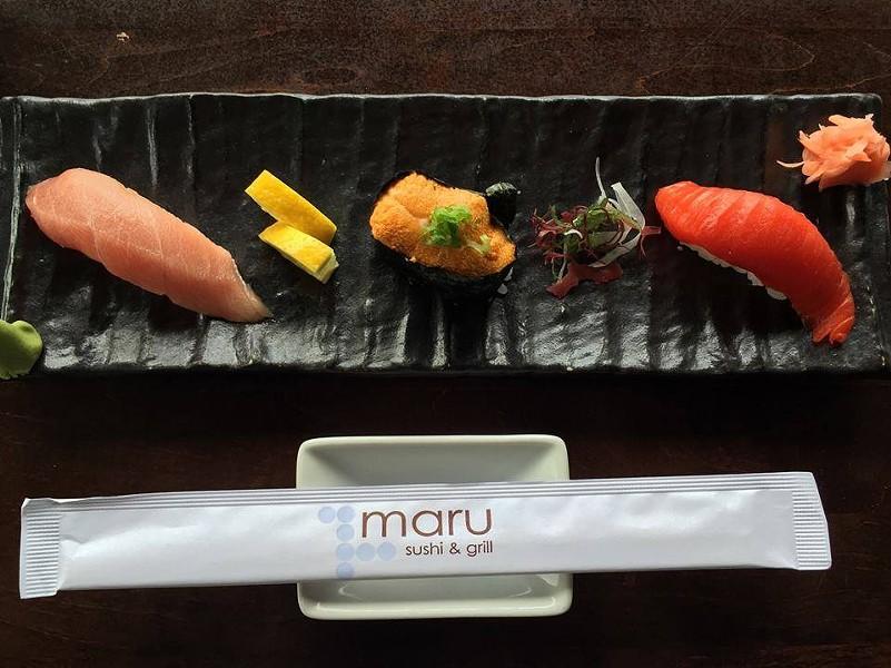 MARU SUSHI/FACEBOOK