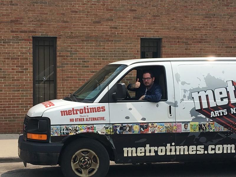 The Metro Times-mobile rides on... - JOSH COHEN
