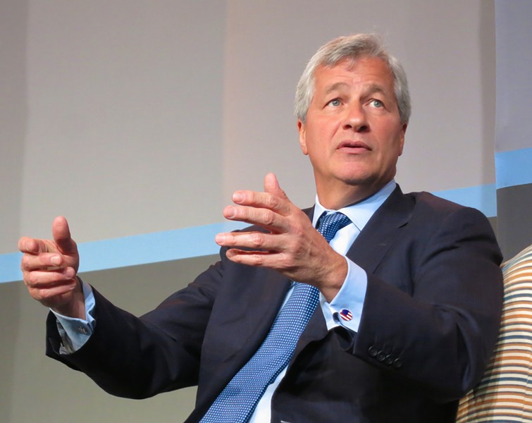 Jamie Dimon. - PHOTO VIA WIKIPEDIA.