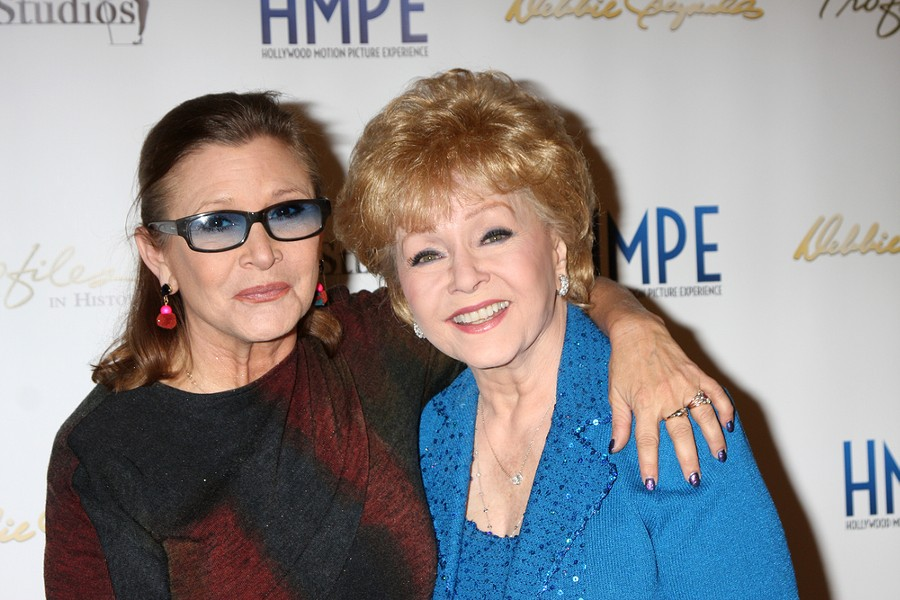 Carrie Fisher and Debbie Reynolds circa 2014. - SHUTTERSTOCK.