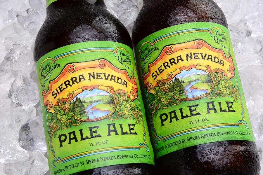 Sierra Nevada's Pale Ale. - SHUTTERSTOCK