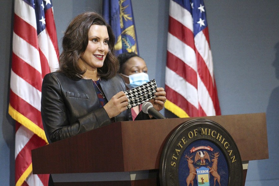 Gov. Gretchen Whitmer wants you to #MaskUp. - STATE OF MICHIGAN