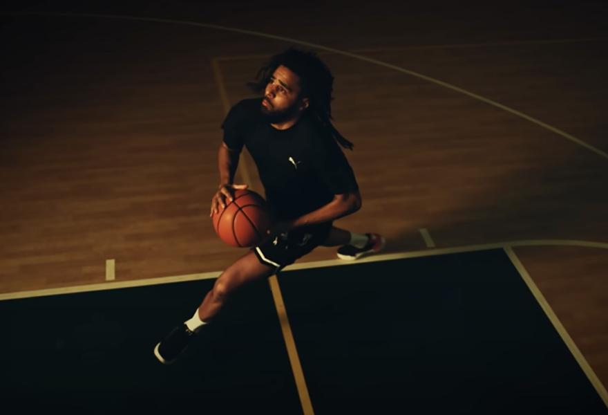 J.Cole in PUMA's 'Dreamer' campaign. - SCREENGRAB/YOUTUBE