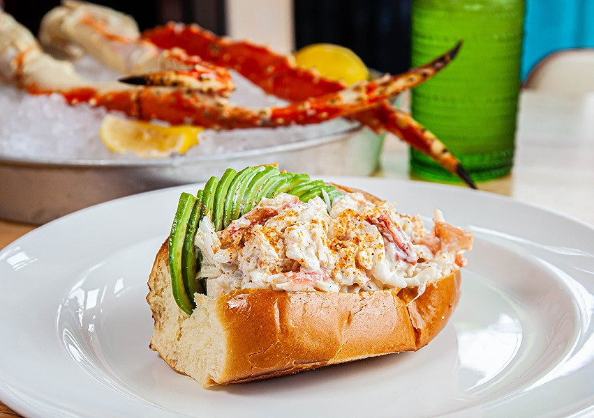 Pacific Northwest Crab Rolls are coming to Hazel, Ravines and Downtown. - ANTHONY MORROW AT BUREAU