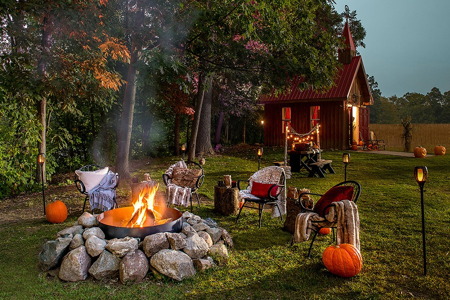 Hell actually looks quite cozy this time of year. - AIRBNB