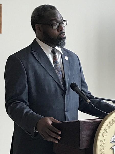 Detroit City Councilman James Tate. - LARRY GABRIEL