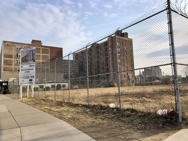 View of the vacant property in 2018. - STEVE NEAVLING