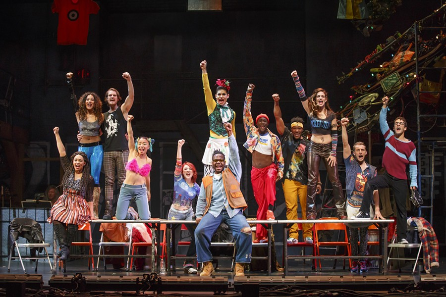 RENT @ Fisher Theatre. Courtesy photo.