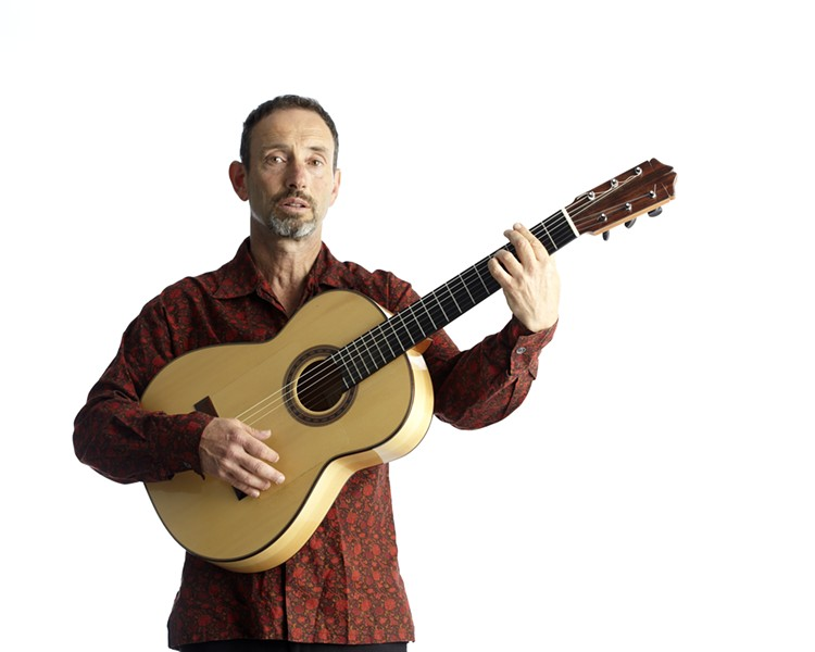 Jonathan Richman will perform at Third Man Records. - COURTESY PHOTO.