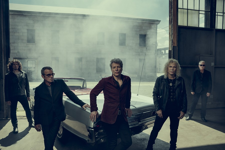 Bon Jovi will perform at Joe Louis Arena. - PHOTO COURTESY OF OLYMPIA ENTERTAINMENT