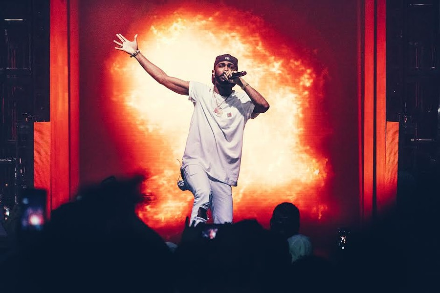 Big Sean performs at the Fox Theatre. - PHOTO BY CAMERA JESUS