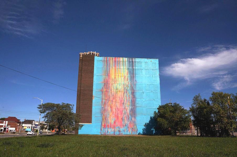 """The Illuminated Mural."" - COURTESY PHOTO"