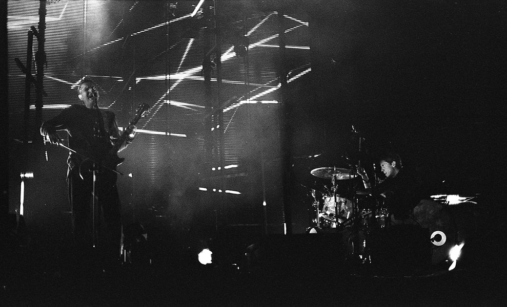 SIGUR RÓS IN DETROIT IN 2017. PHOTO BY TOMAS LAVERTY.