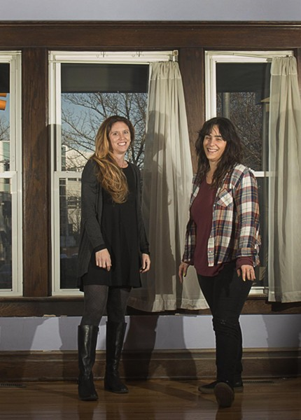 Electric Eye owners Rachel Pell and Keelan Ferraiuolo - COURTESY PHOTO