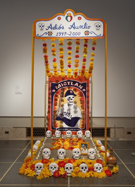 An ofrenda altar from last year's display at the DIA by Gabrielle and Juan Javier Pescador of Ann Arbor - COURTESY OF THE DETROIT INSTITUTE OF ARTS