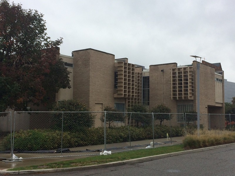 Barat House prior to demolition. - TOM PERKINS