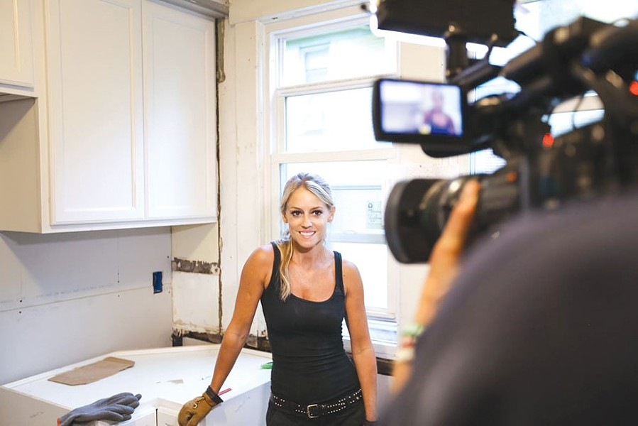 Nicole Curtis. - COURTESY HGTV