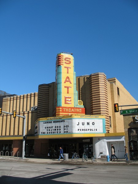 Ann Arbor's State Theatre will reopen on Friday, Dec. 8. - PHOTO VIA FLICKR, JBCURIO