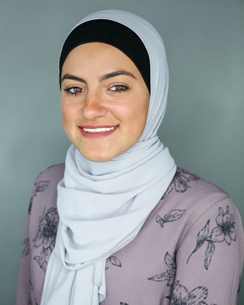 Malak Wazne is a senior at Dearborn High School. - PHOTO VIA ARAB AMERICAN NATIONAL MUSEUM