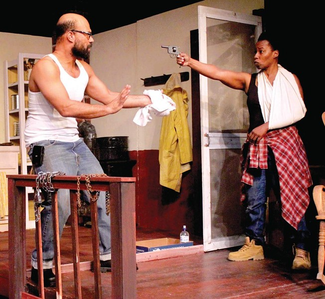 Jonathon West (left) and Yolanda Jack star in 'Dauphin Island' at the Detroit Repertory Theatre. - PHOTO COURTESY DETROIT REPERTORY THEATRE
