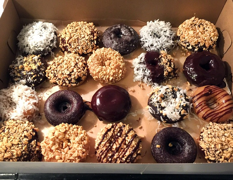 Vegan doughnuts - COURTESY PHOTO
