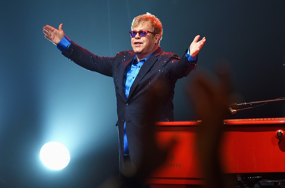Elton John will perform at Little Caesars Arena on Friday, Oct.  12. - PHOTO COURTESY OF BILLBOARD.