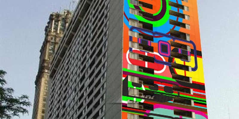 Beverly Fishman's abstract art to color downtown Detroit with new, 170-foot mural
