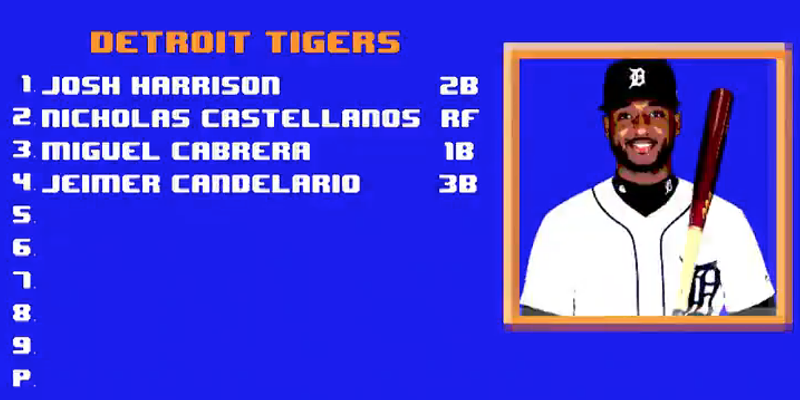 Detroit Tigers announce opening day lineup with nostalgic Nintendo spoof