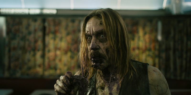 Iggy Pop as a zombie in Jim Jarmusch's The Dead Don't Die.