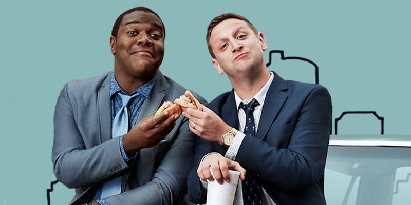 Sam Richardson and Tim Robinson star in Detroiters.