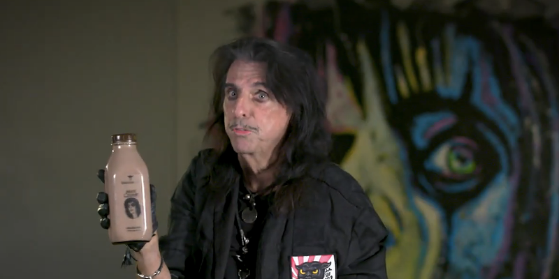 Alice Cooper is the face of Arizona-based chocolate milk to benefit little rock 'n' rollers
