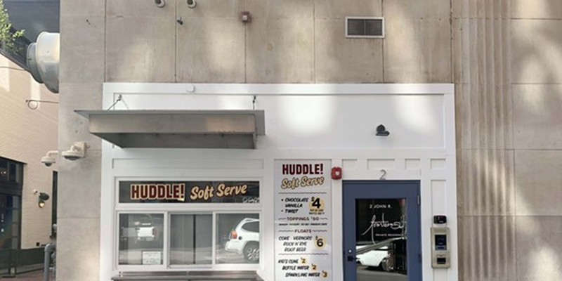 Huddle soft-serve in Detroit will pivot to serving hot cups of broth for winter