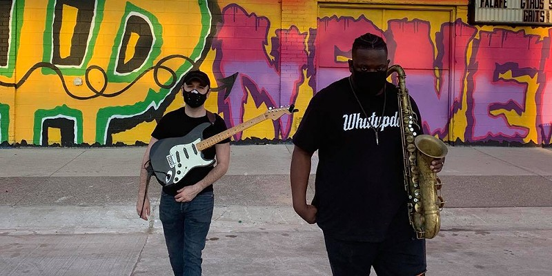 Detroit jazz duo Anti-Philosophy make music for these tumultuous times